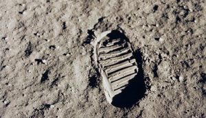 """One small step for a man, but……"""